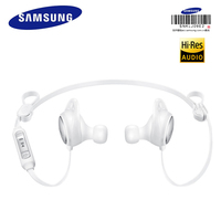Samsung Original Level Active Mobile Phone In Ear Earphone In A Black And White Wheat S8