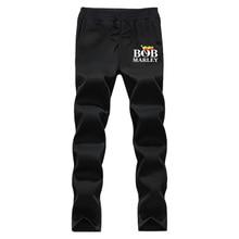 XIULUO Bob Marley 2016 Neue Marke Mode Jogginghose Hose Männer fleece Freizeithosen Herren Kleidung Trainingsanzug grau und Schwarz