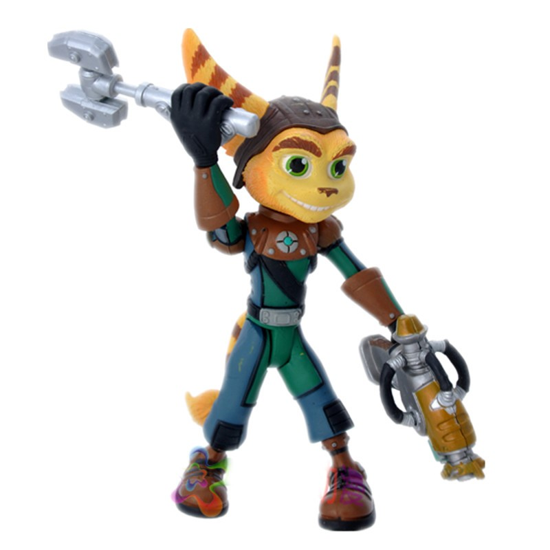 13CM Ratchet and Clank Future Ratchet With Transforming Clank PVC Action Figures Kids Toys For Gift New in Box sadat khattab usama abdul raouf and tsutomu kodaki bio ethanol for future from woody biomass