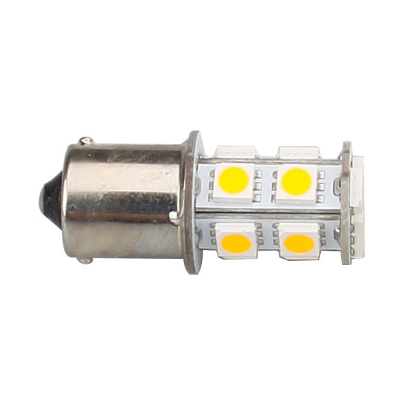 1156 LED BUBL P21W BA15S 12V 24V 13LED 5050SMD BULB vehicle tail lights brake lights reverse lights turn signals side 4pcs/lot