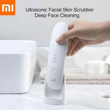 Xiaomi MIJIA Ultrasonic Facial Skin Scrubber Deep Face Cleaning Peeling Skin Care Device xiomi Smart home Chip Beauty Instrument - DISCOUNT ITEM  30% OFF Consumer Electronics