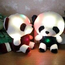 Plush-Toy Dolphin Stuffed-Animals Bear Light-Up Glowing Birthday Home-Decor LED Gift