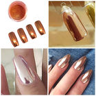 Rose Gold Shinning Magic Mirror Powder Glitter Chrome Powder Nail Art
