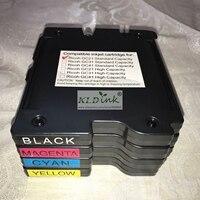 GC21K  GC21C  GC21M  GC21Y cartuccia di inchiostro di Sublimazione della Tintura per GX3000S  GX3000  GX2500  GX2050N GX3050SFN  GX3050N