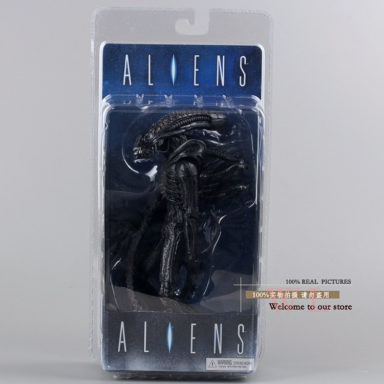NECA Actions Toys Alien 2 generation ALIEN 7 Inch Movable Doll Model Fighting Style NECA Actions Toys Alien 2 generation ALIEN 7 Inch Movable Doll Model Fighting Style