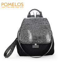 POMELOS Backpack Women 2019 New Arrival Fashion Small High Quality Synthetic Leather Luxury Girls Sequin Woman