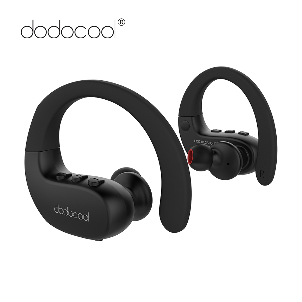 dodocool True Wireless Earphones IPX5 Sport Bluetooth Earphone with Mic Multipoint Connection Music Earphone Headphone Bluetooth