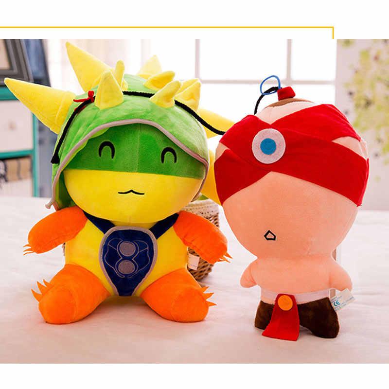 25/30/45/55 CENTÍMETROS Jogos LoL Teemo Figura Bonecas de Pelúcia Macia Brinquedos de Pelúcia Presente Engraçado Para crianças Caçoa o Presente