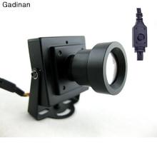 Новое Прибытие Мини Камеры ВИДЕОНАБЛЮДЕНИЯ Высокого Разрешения Sony Effio-E 700TVL 25 мм Объектив Доски Безопасности Box Цвет CCTV камера