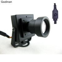 New Arrival Mini CCTV Camera High Resolution Sony Effio E 700TVL 25mm Board Lens Security Box Color CCTV Camera