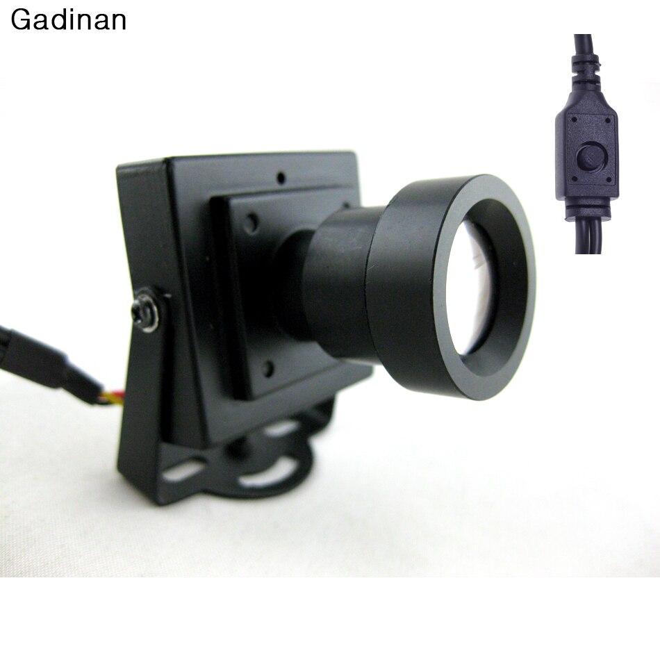Nouvelle Arrivée Mini CCTV Caméra Haute Résolution Sony Effio-e 700TVL 25mm Conseil Objectif Security Box Couleur CCTV caméra