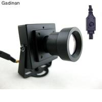 New Arrival Mini CCTV Camera High Resolution Sony Effio E 700TVL 25mm Board Lens Security Box