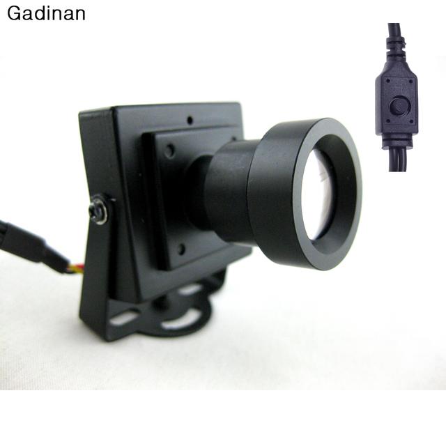 Nueva llegada mini cámara cctv de alta resolución de sony effio-e 700tvl 25mm lente del tablero caja de color de seguridad cctv cámara