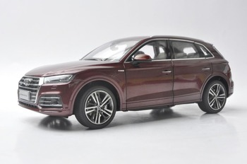 1:18 Diecast Model for Audi Q5L Q5 2018 Red New SUV Alloy Toy Car Miniature Collection Gifts image