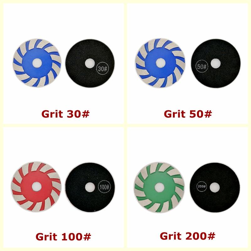 4-tolline 1 tk 100mm teemant Lihvimispadjad Metallist liim - Elektrilised tööriistad - Foto 6