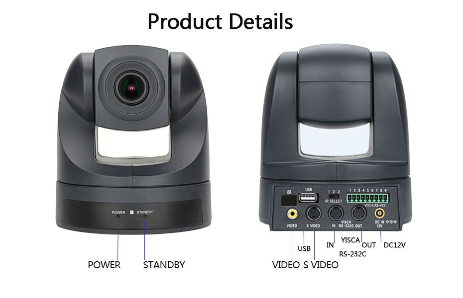High Quality usb conference camera