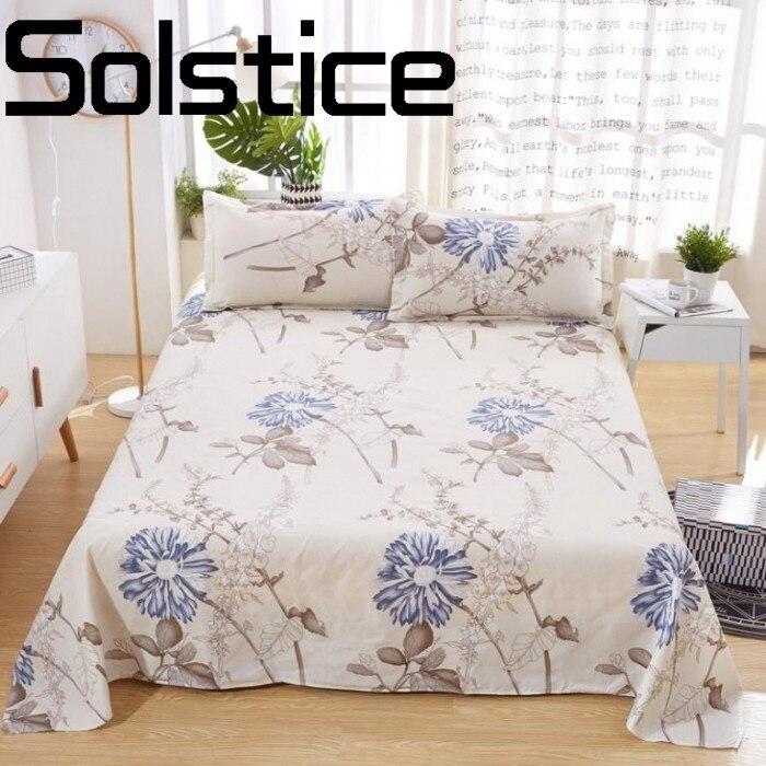 Solstice Home Textile Fashionable Comfort Aloe Cotton Reactive Print Bedding Sheets Quilt Cover Pillowcase 3/4pcs