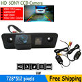 WATERPROOF parking rear view camera HD SONY CCD camera Backup reverse with parking lines for VW SKODA ROOMSTER OCTAVIA FABIA