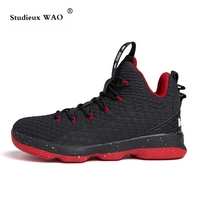 Basketball Shoes for Men Fall Outdoor Sneakers High Breathable Hot Student Court Training Tennis light runing basket homme sport