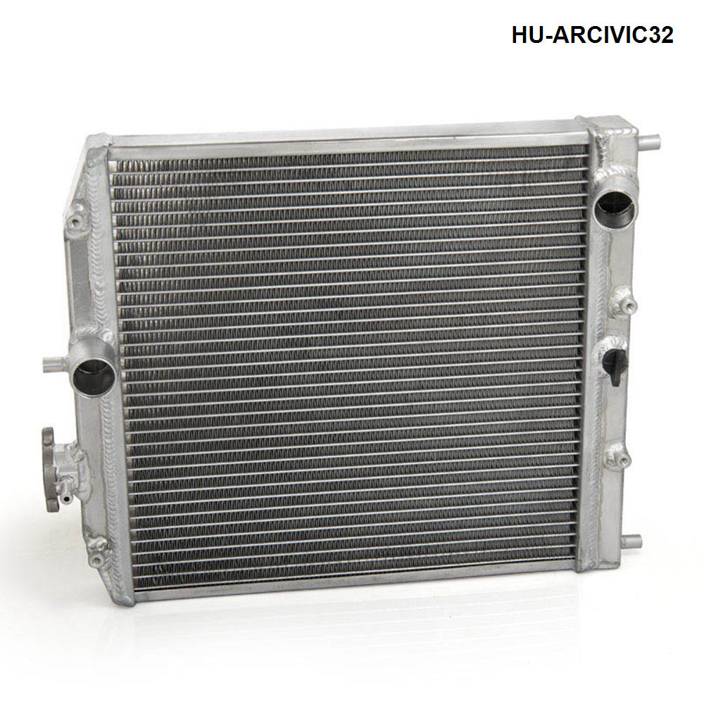 Car 1Row Full Aluminum Racing Radiator For Honda Civic EK EG DEl Sol Manual 92-00 32MM D15 D16 HU-ARCIVIC32 free shipping jdmspeed spark plug wire set fits for honda civic del sol 1992 2000 eg ek ej d15 d16 spiral core