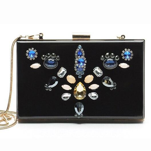 Las mujeres de diamantes de noche bolsos de las señoras bolsos de diseño de Lujo