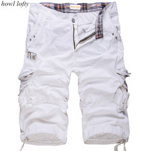 HOWL LOFTY 2017 New Male Board Shorts Summer Men's Camouflage Army Cargo Shorts Workout Shorts Homme Casual Bermuda Trousers