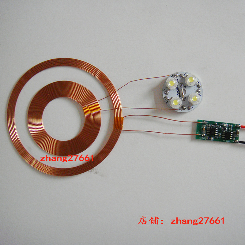 Magnetic levitation wireless power supply module / multi-function indicator / wireless charging module / (outer diameter 83mm) tenying magnetic suspension dedicated wireless power receiver solution module power connector