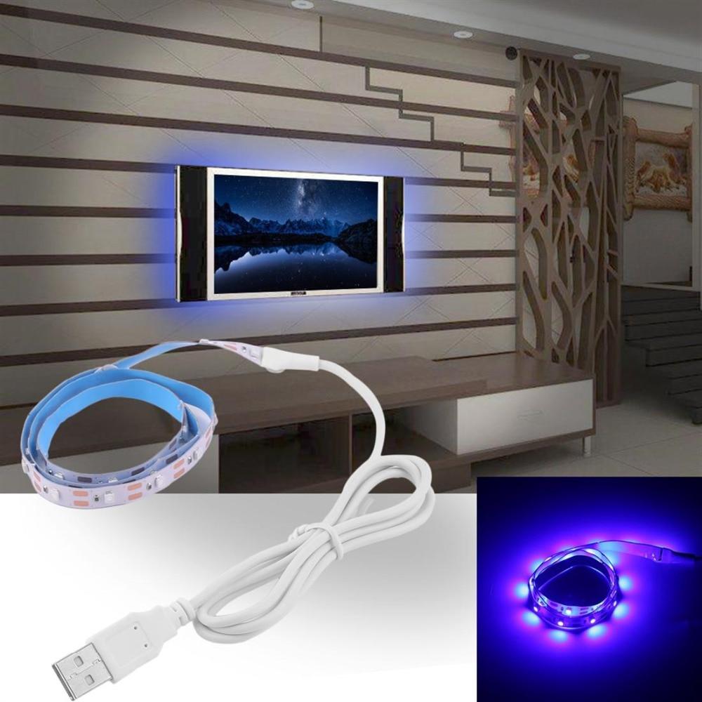 DC5V USB LED Strip Light TV Background Lighting  Flexible Diode Tape No Waterproof 50CM 1M 2M Led Lamp Diode RGB Neon Ribbon