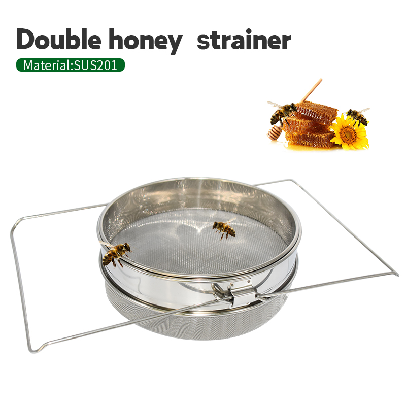 BEETOP Stainless Steel Honey Filters Strainer Network Stainless Steel Screen Mesh Filter Beekeeping Tools Honey Tools 24