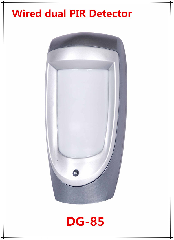Hot Selling Wired Dual PIR Motion sensor Outdoor Use With PET Immunity works with our ST-IIIB and ST-VGT Alarm system free shipping 433mhz 868mhz wireless vibration sensor shock detector works with st iiib and st vgt alarm system