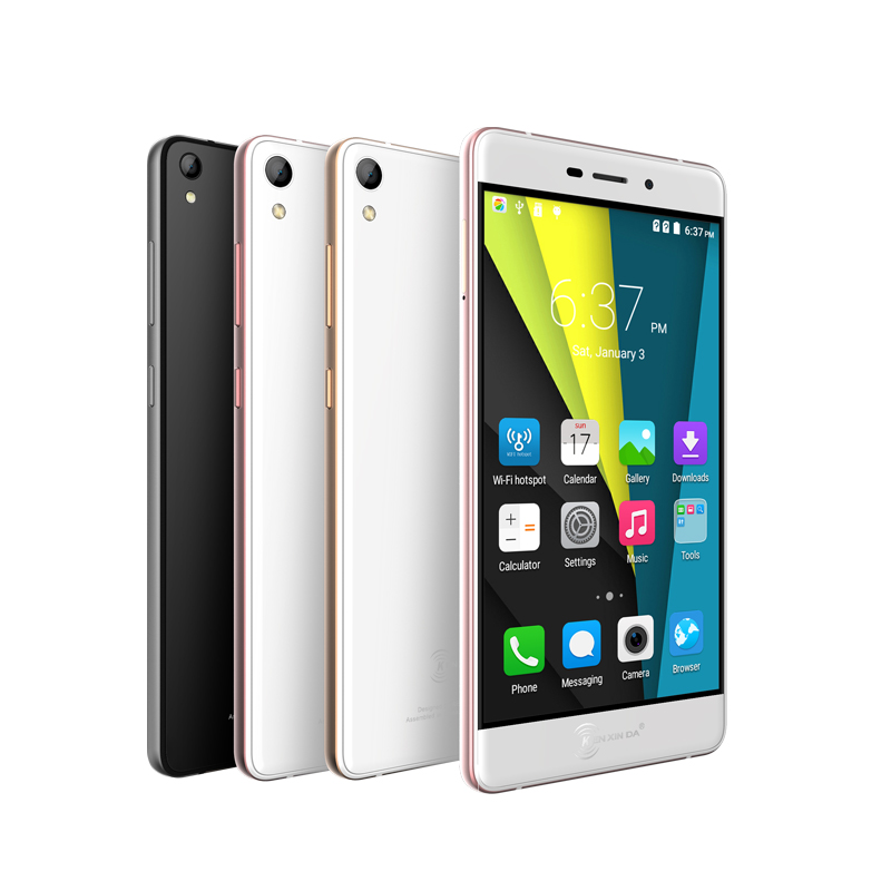 "Original kenxinda R6 ultra thin Slim Mobile Phone Smartphone 4G LTE MTK6753 8 Octa Core 5.2"" FHD 1920x1080 Android Cell Phone"