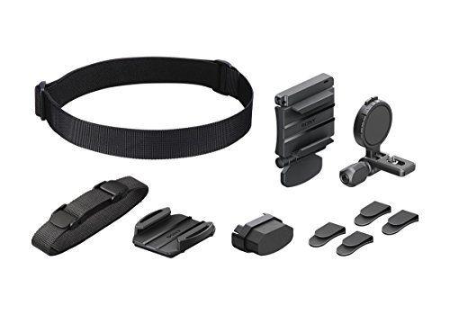 Cabeza del casco Kit de montaje para Sony acción CAM HDR AS15 AS20 AS100V como BLT-UHM1