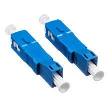 10PCS  Optical Fiber Connector Flange Coupler SC Male turn LC Female SC-LC Optical Power Meter Adapter Free shipping Russia 10pcs lot a2201 dip 8 optical coupler oc optocoupler