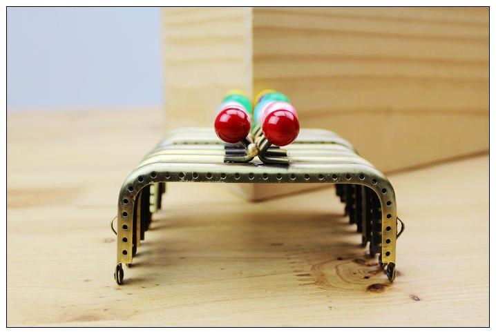 Mutter & Kinder 10 Teile/los Square10.5cm Candy Wulst Kopf Grün Bronze Metallgeldbeutel-rahmen Kuss Schließe 19 Farben Fk09 Kostenloser Versand Waren Des TäGlichen Bedarfs