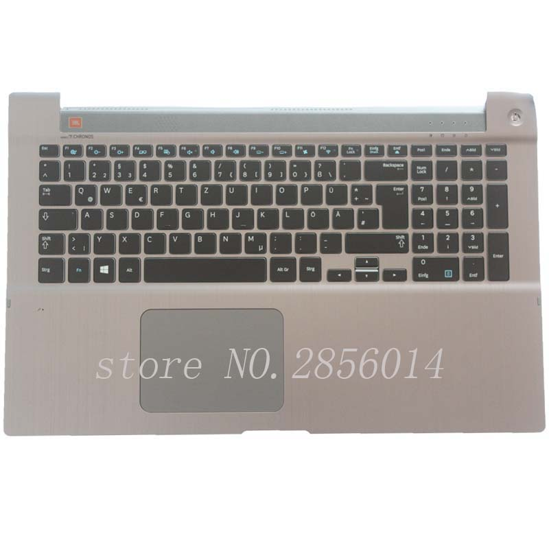 NEW!!! German For Samsung 700Z7A 700Z7B 700Z7C NP700Z7A NP700Z7B NP700Z7C Backlit keyboard GR laptop keyboard with C shell for samsung qx410 qx411 laptop keyboard with c shell