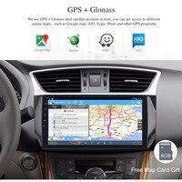 Android 8,0 автомобильный мультимедийный плеер для Nissan Sylphy B17 Sentra Puslar gps навигации 10,2 ips Экран RDS SWC WI FI BT карта радио