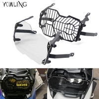 For High Quality Motorcycle Headlight Head Light Grill Guard Cover Protector For BMW R1200GS 2013 2016