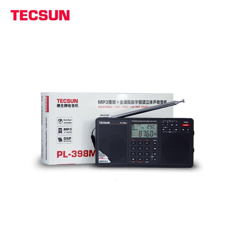ФОТО 100% Original Tecsun PL-398MP 2.2'' Full Band Digital Tuning Stereo Radio Receiver MP3 Player
