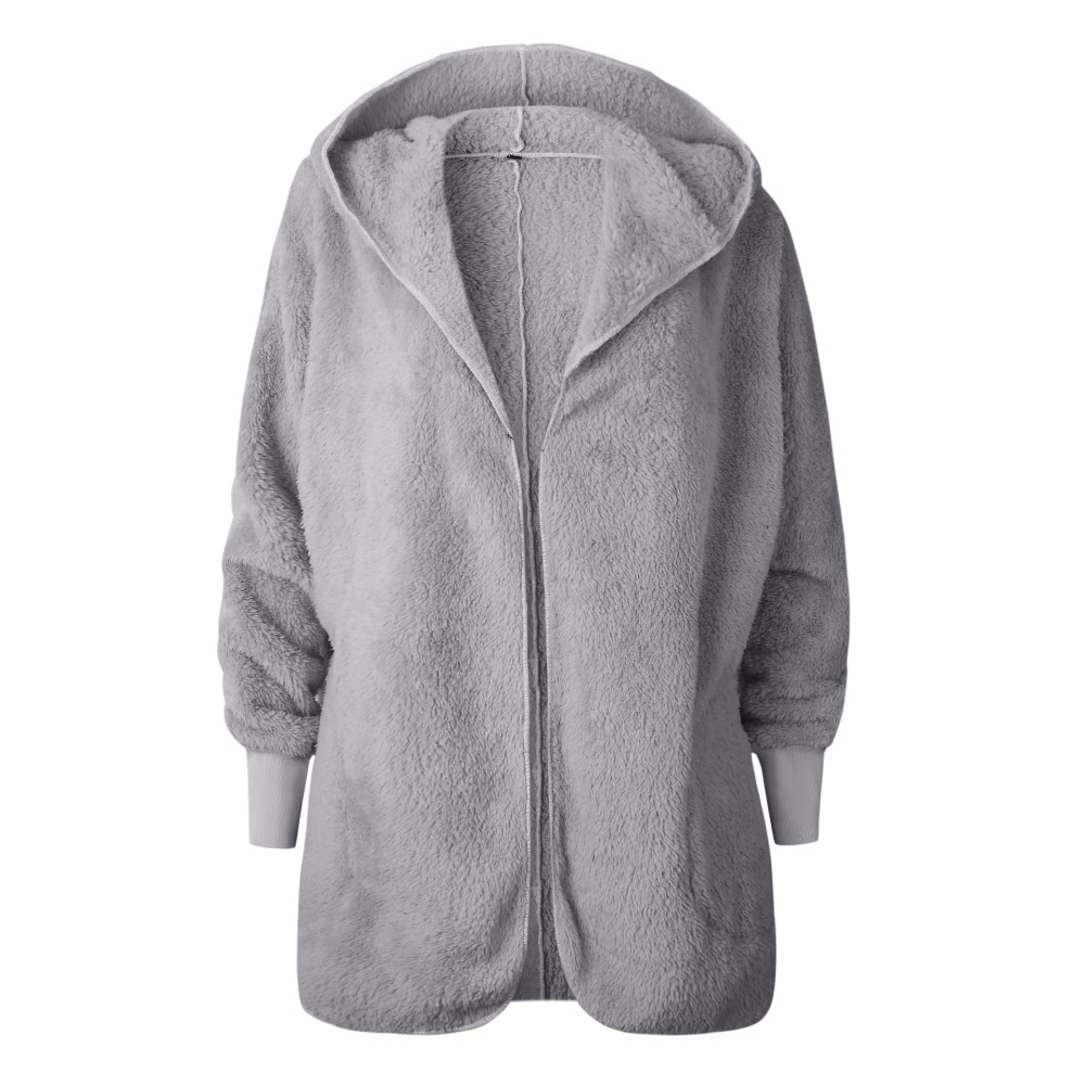 Jackets & Coats Lkghulo 2018 Winter Woman Coats Faux Suede Leather Jackets Plus Size Loose Parka Medium Long Faux Lambs Wool Coat 3xl W536