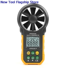HYELEC MS6252A Digital Air Speed Anemometer / Air Volume / Air Flow Test Meter стоимость