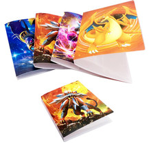 8 style board game album for cards 112 playing cards holder suitable for 6388mm pokemon cards board game(China)