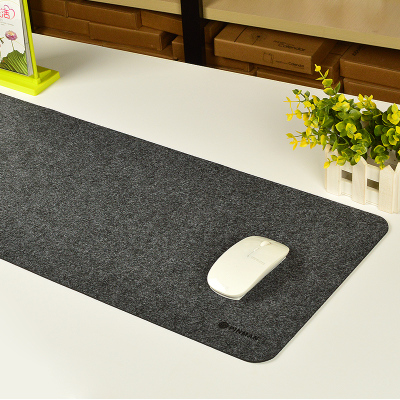 800x 300x3mmWonderful Gift wool felt comfortable soft Mouse Pad Clear Wristband Pad For Desktop Computer mouse gamer