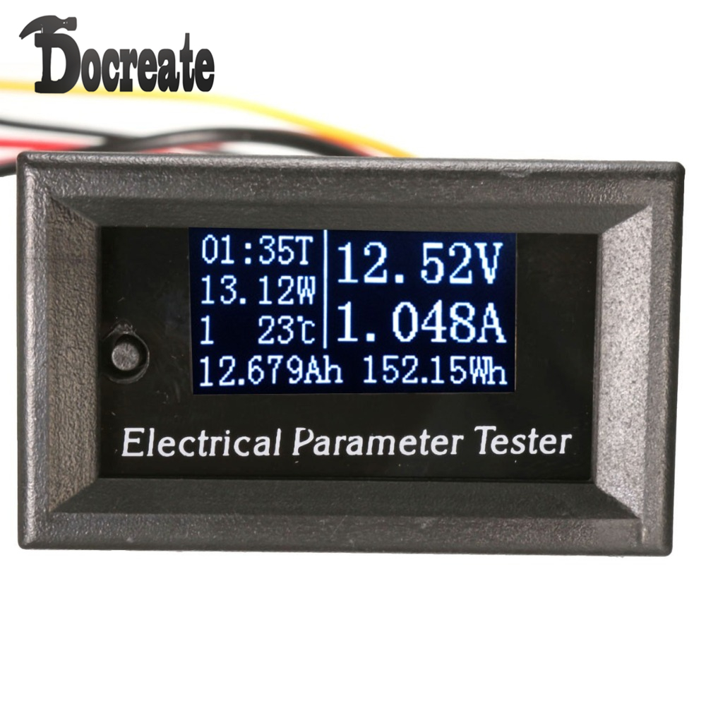 Oled LCD 33V 10A DC Combo Meter Voltage Current Tester Power Capacity Battery Monitor lp116wh2 m116nwr1 ltn116at02 n116bge lb1 b116xw03 v 0 n116bge l41 n116bge lb1 ltn116at04 claa116wa03a b116xw01slim lcd