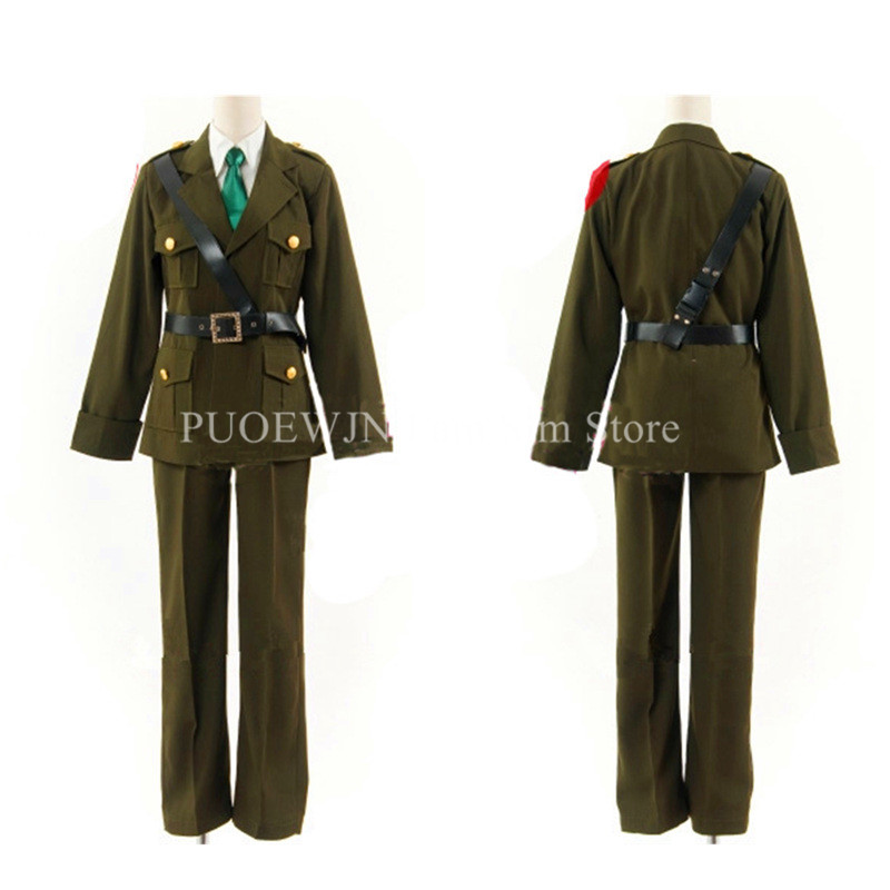 Anime APH Hetalia England Cosplay Costumes Axis Powers