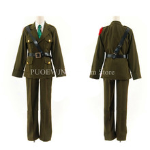 Anime APH Hetalia England Cosplay Costumes Axis Powers Arthur Kirkland
