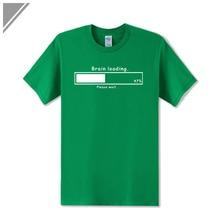 "Geek ""Brain Loading"" men t-shirt / 21 Colors"