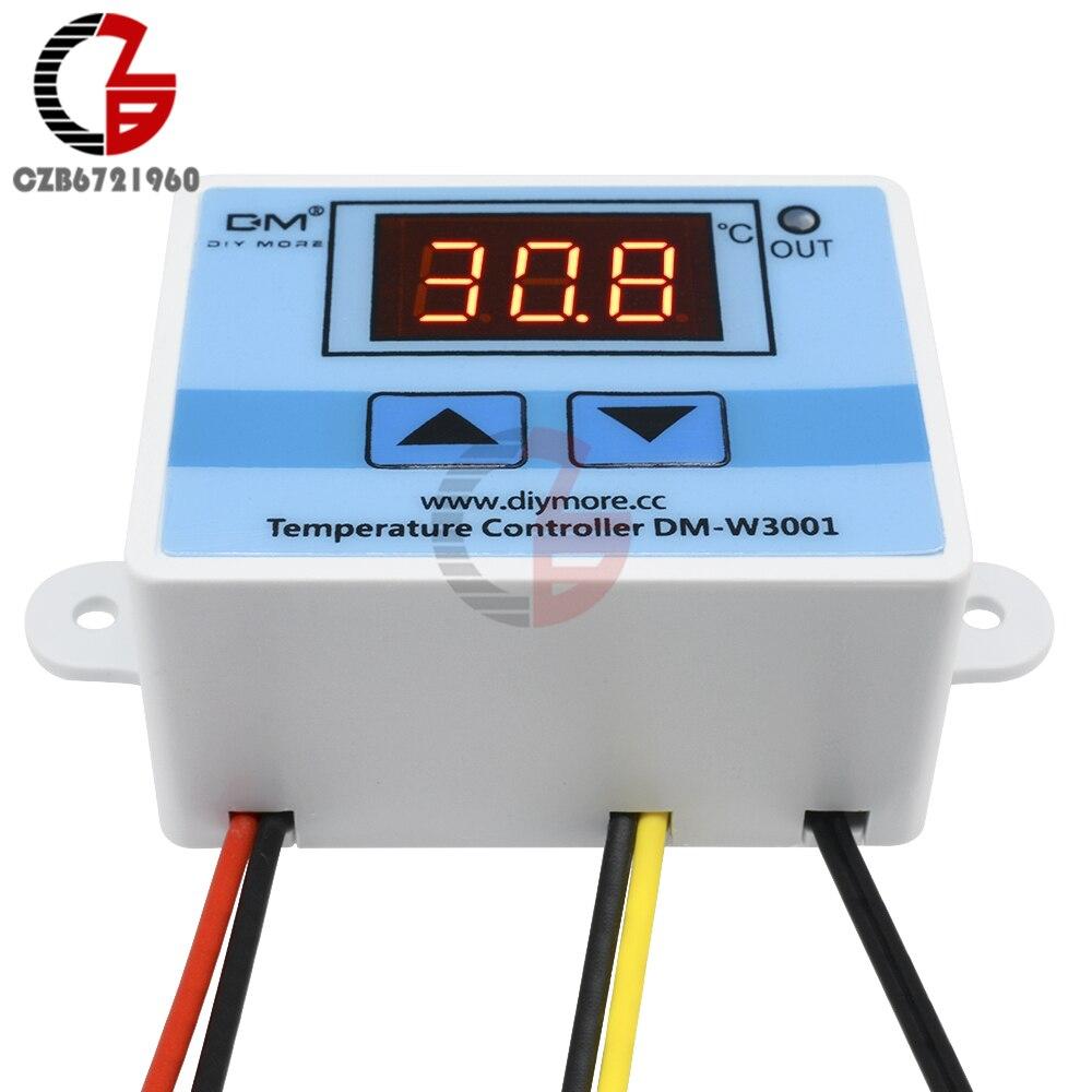 HTB1zV0AVkzoK1RjSZFlq6yi4VXaX DC 12V 24V 110V 220V AC 20A LED Digital Temperature Controller Thermostat Thermometer Temperature Control Switch Sensor Meter