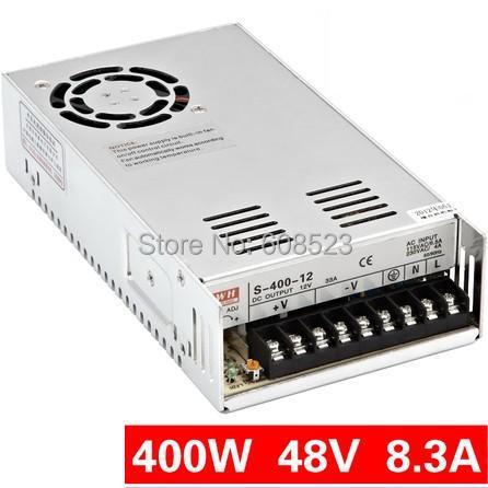 400W 48V 8.3A Single Output Switching power supply LED Strip light AC to DC 1200w 48v adjustable 220v input single output switching power supply for led strip light ac to dc