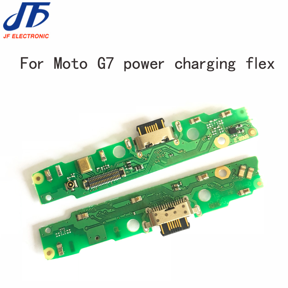 10pcs LOT New For Motorola Moto G7 Power USB Charging Port Dock Connector Flex Cable