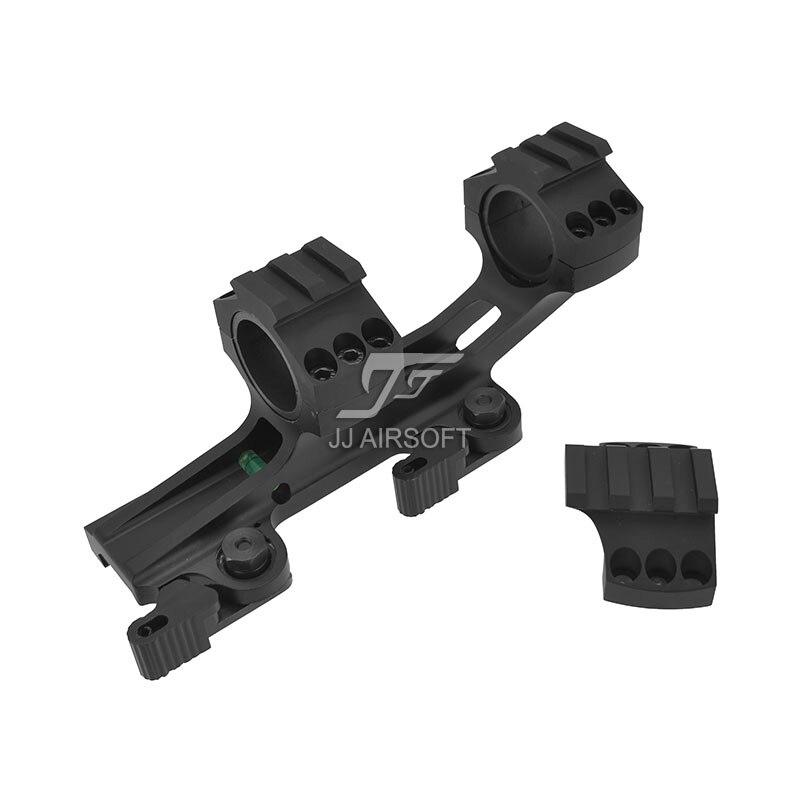 TARGET LaRue Style 25.4/30mm QD Rifle Scope Cantilever Mount (Black) element larue tactical spr m4 scope mount qd